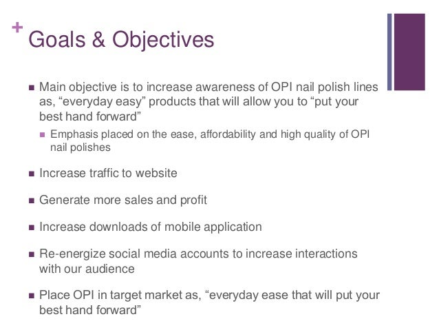 Objectives for Hair Salons and Spas