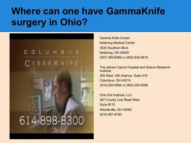 Final Presentation Gammaknife Vs Cyberknife Surgery