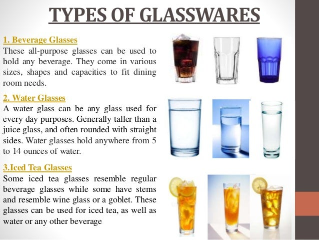 Drinking Glasses Meaning