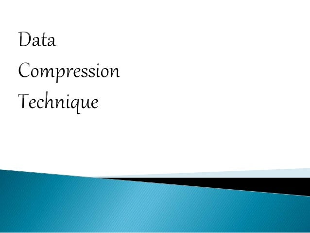 data compression A wonderful treasure chest of information spanning a wide range of data compression methods, from simple test compression methods to the use of wavelets in image compression.