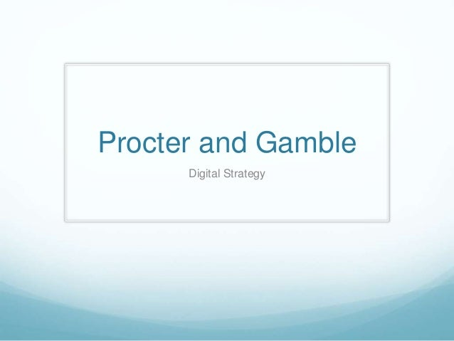 strategy of procter and gambler s business Procter and gamble identified the increasing globalisation of business and resultantly altered their business strategy and structure in order to maximise exposure in more countries in order to: remain competitive internationally, benefit from economies of scale and to maximise revenues, profits, share price and return on invested capital.