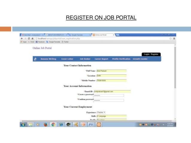 online jobportal