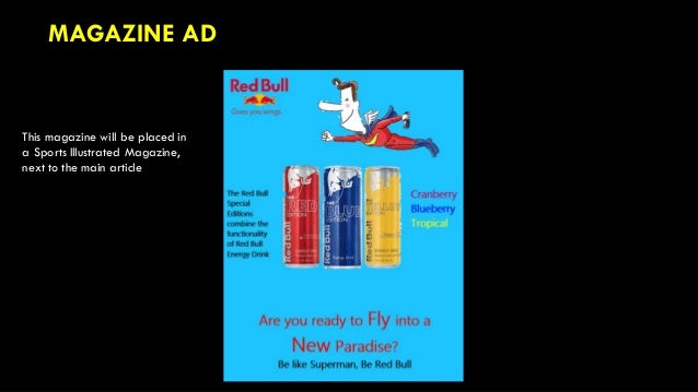 Red Bull Special Edition Advertising Campaign