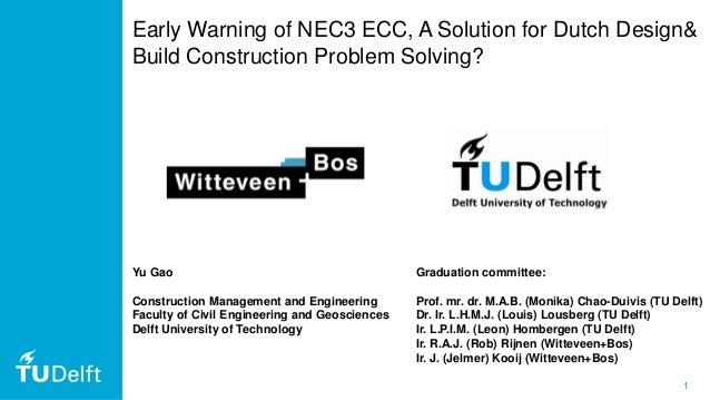nec3 dissertation questions