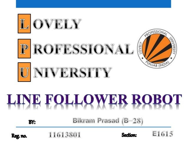 "A line follower robot is basically a robot designed to follow a ""line"" or a ""path"" already predetermined by the user. The ..."