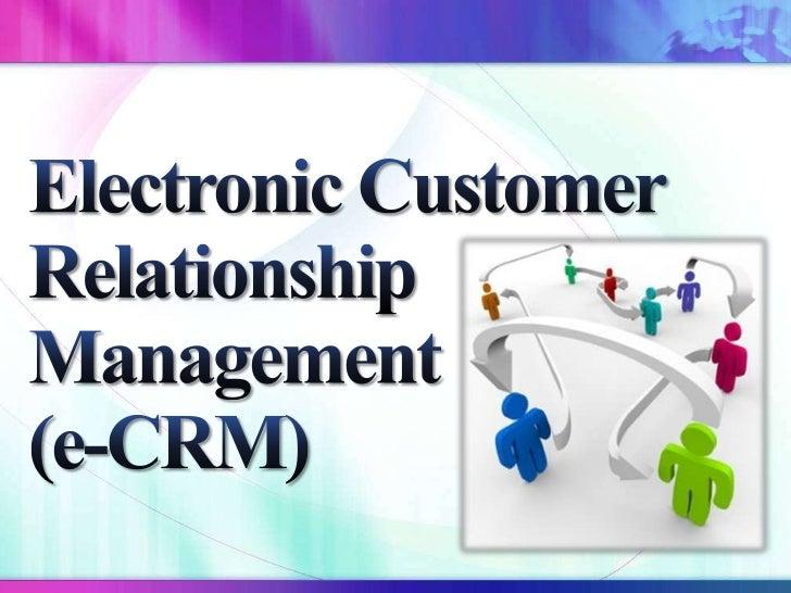 E-CRM and Amazon