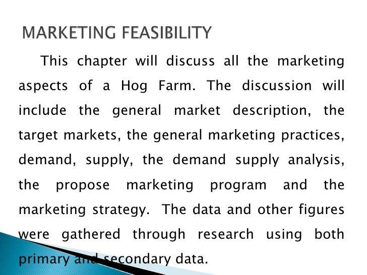 A Project Feasibility Study for the Establishment of E&J Farms