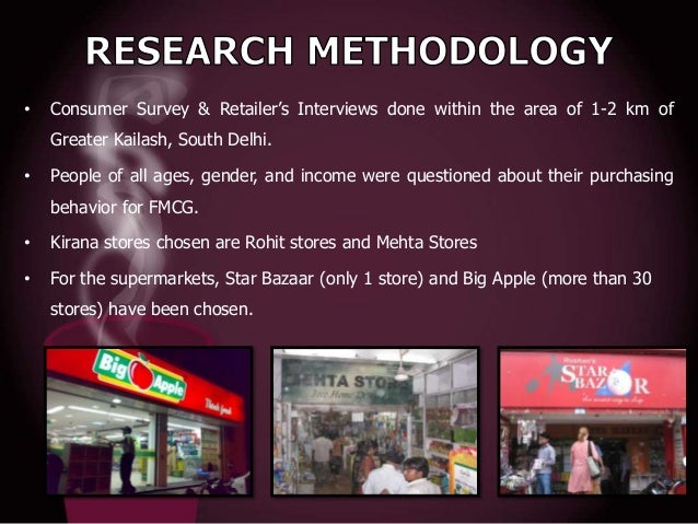 •  Consumer Survey & Retailer's Interviews done within the area of 1-2 km of Greater Kailash, South Delhi.  •  People of a...