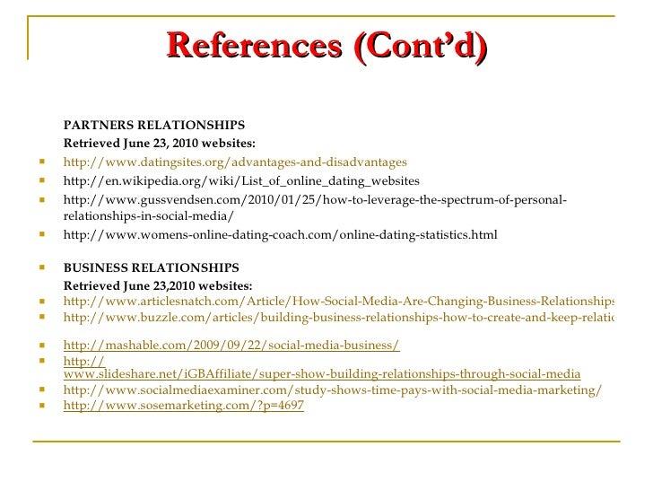 dating websites disadvantages