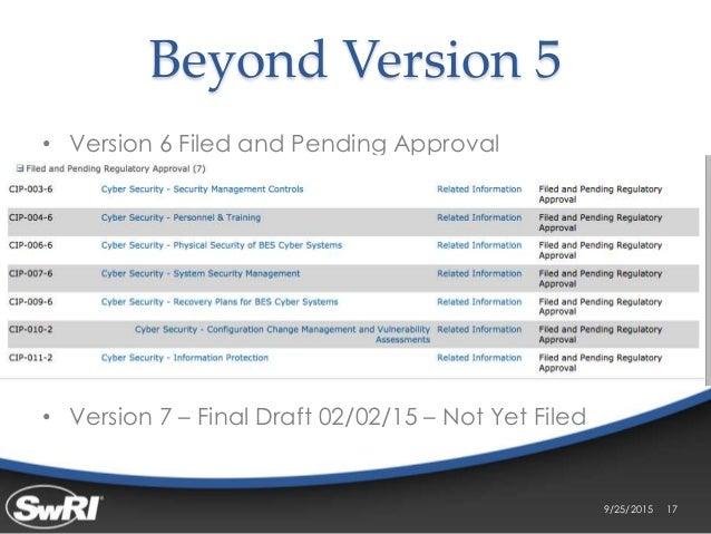 nerc cip version 5 pdf
