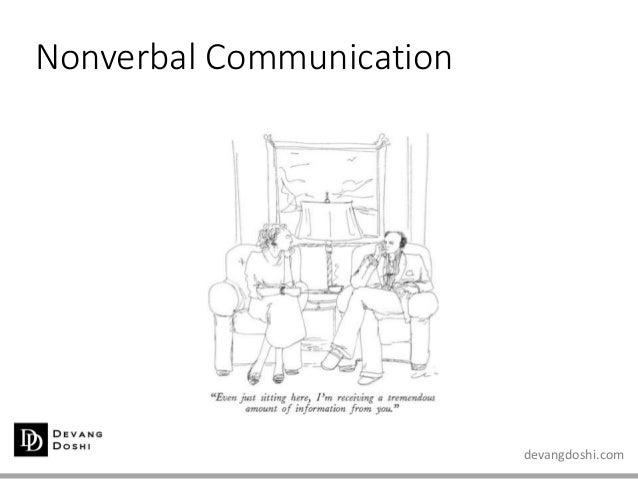 devangdoshi.com Nonverbal Communication