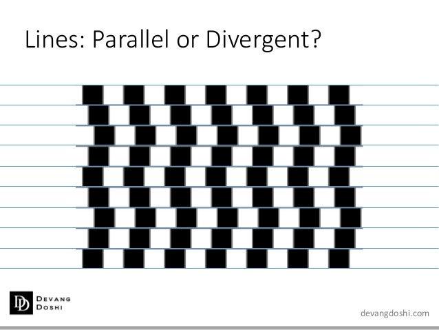 devangdoshi.com Lines: Parallel or Divergent?
