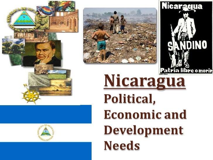 Nicaragua Political, Economic and Development Needs