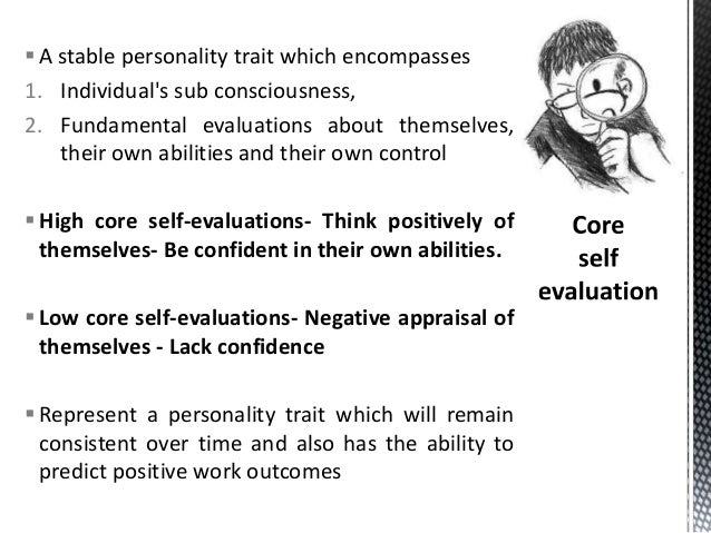components of self awarnesscognitive styles attitude towards change – Self Evaluations