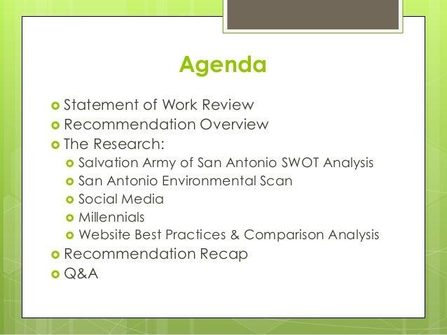Salvation Army Website Development & Increased Community Involvement Slide 3