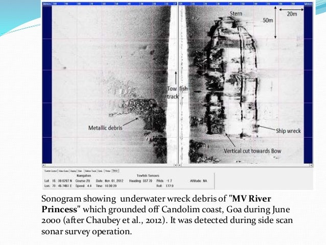 Echosounding Shallow Seismic Reflection And Underwater