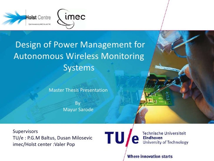 iiiee master thesis presentation