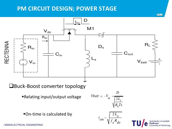 buck boost converter design thesis Figure 28: synchronous buck converter in voltage mode control (vmc)    this thesis discusses the design of an efficient pulse-frequency.