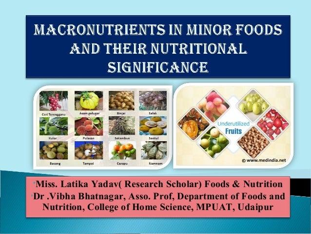 •Miss. Latika Yadav( Research Scholar) Foods & Nutrition•Dr .Vibha Bhatnagar, Asso. Prof, Department of Foods and   Nutrit...