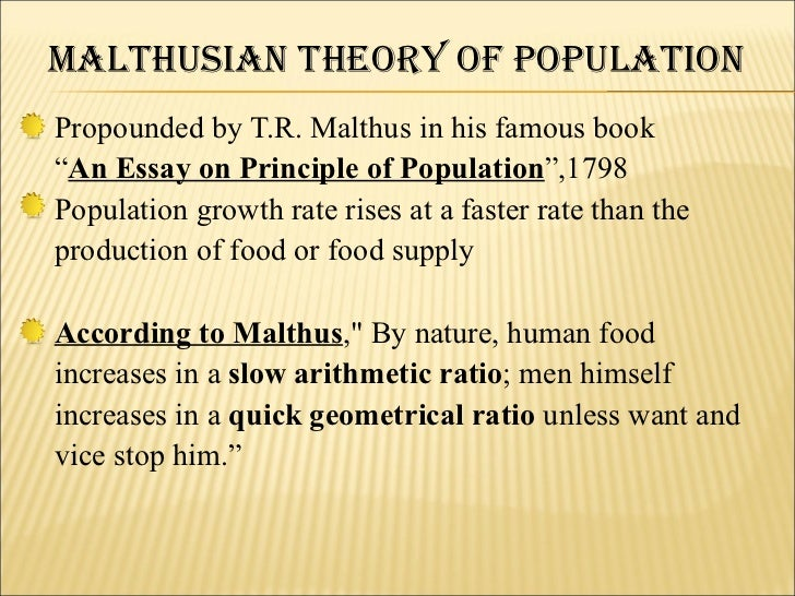 Another Inconvenient Truth: The World's Growing Population Poses a Malthusian Dilemma