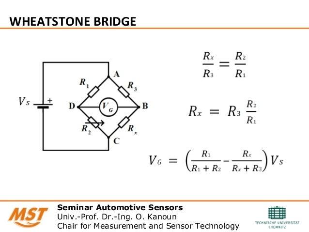 Wheatstone Bridge: Wiring Diagram Wheatstone Bridge At Eklablog.co