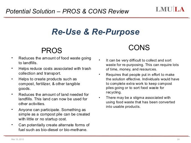 recycling pros and cons So let's see what the pros and cons of wooden pallets are cons  the pros, the cons and the why the pros and cons of having a tv over the fireplace.