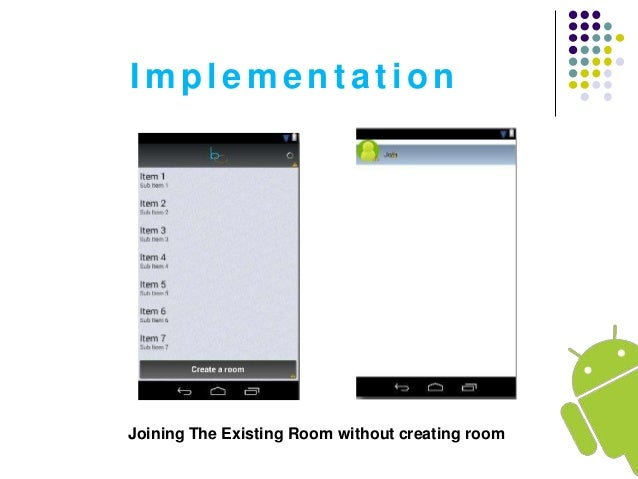 Free chat room for android