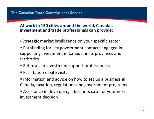 doing business in canada 2012 Dave, a us citizen living in canada, told the audience he had the privilege of   mills, reporting growth of 8 percent in the first quarter of fiscal 2012  he outlined  five reasons why canada is a good place to do business: 1.