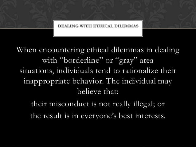 ethical dilemmas in organizational communication Ethical issues in health promotion and communication interventions summary and keywords health promotion communication interventions invariably raise ethical issues because they aim to influence people's views and lifestyles, and they are often initiated, funded, and influenced by government agencies or powerful public or private organizations.