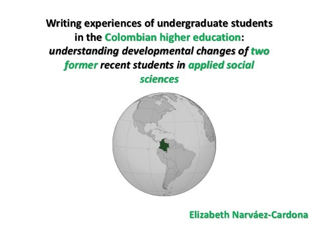 Writing experiences of undergraduate students      in the Colombian higher education:understanding developmental changes o...
