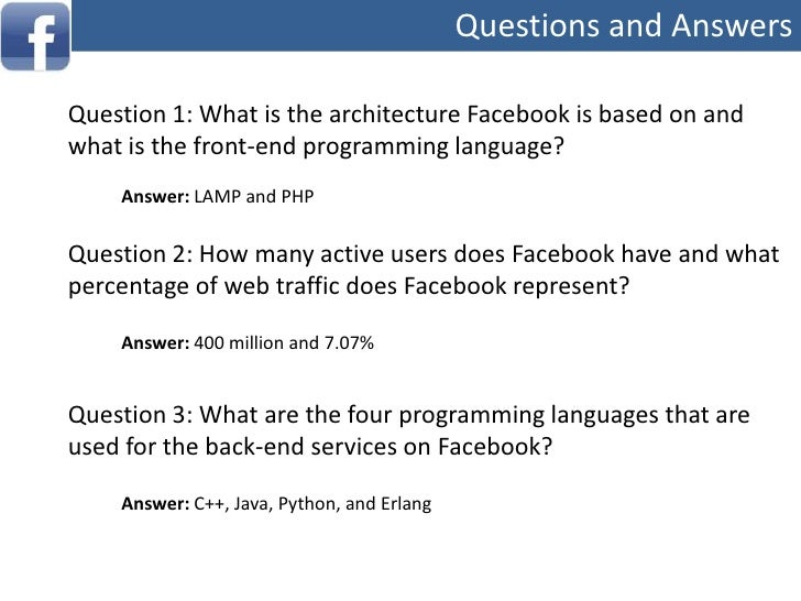 Facebook and resulting apps becoming viral</li></ul>Source: Facebook   Statistics (http://www.facebook.com/press/info.php?...
