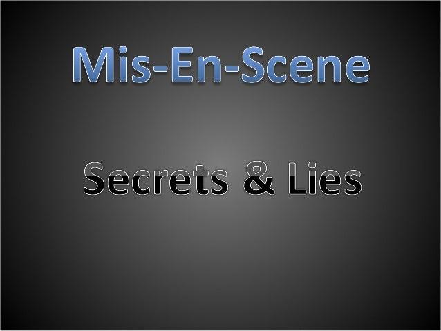 Secrets & Lies 1