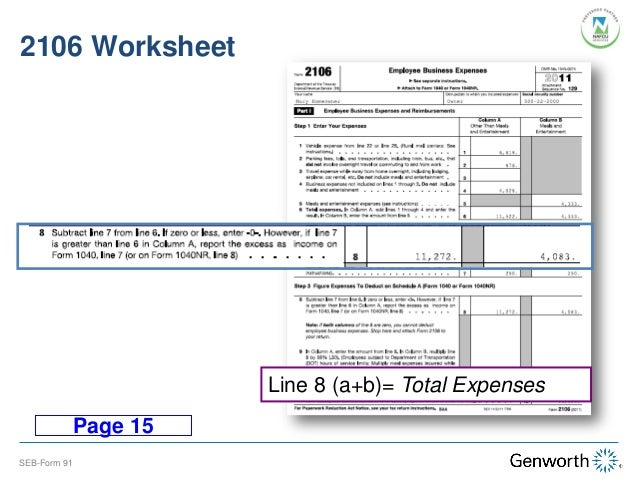 Self-Employed Borrower: Case Study Part I: Completing the Form 91 with ...