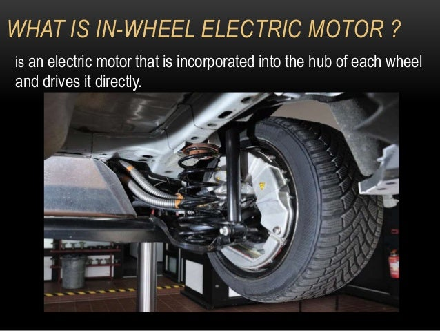 In Wheel Hubless Motor System