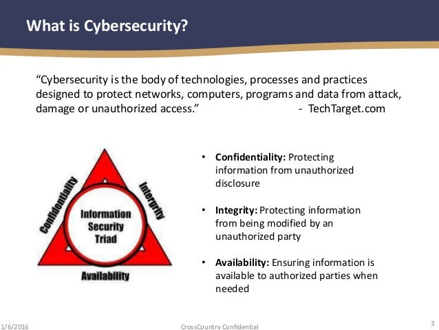 Final Presentation January Iia Cybersecurity Securing Your