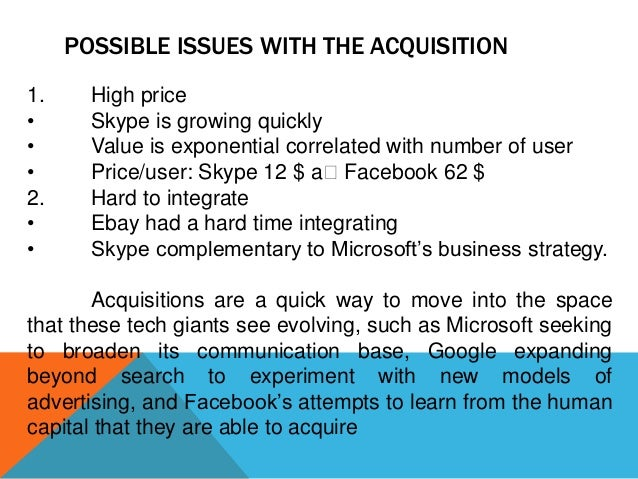 """microsoft skype strategy Analysis of microsoft's strategic acquisition skype michael osypenko  pile of cash is being put to work """"strategic partnerships and acquisitions have always played an important role in microsoft's strategy."""