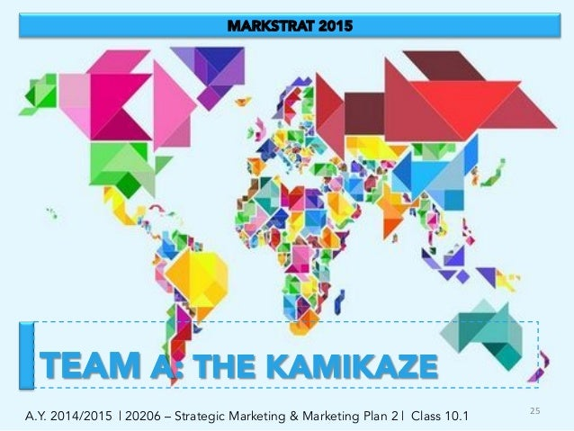 strategic marketing markstrat Module title/name: marketing strategy  markstrat simulation does not involve  consideration of international issues specifically, the.