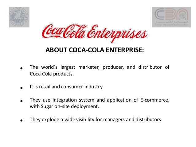 customer relationship management of coca cola Read 2 salesforce customer reviews & customer references from coca-cola enterprises these use cases, approaches and end results from real customers include 1 testimonial & reviews and 1 customer video & reviews.