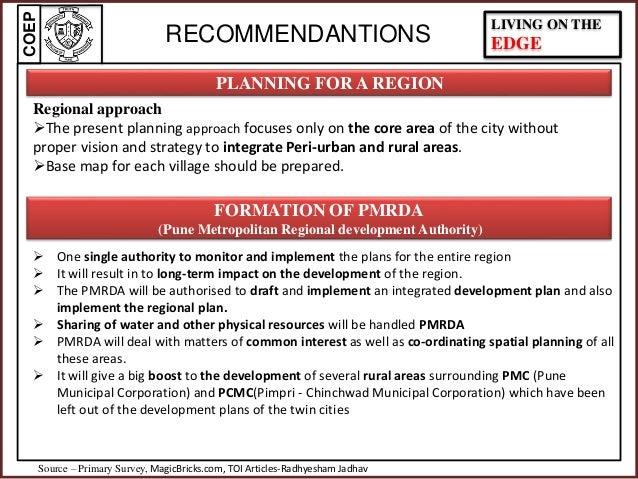 Development Plan- Planning Intervention By (COEP) College of