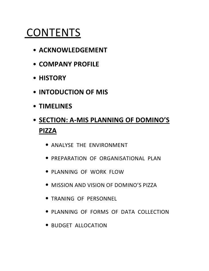dominos pizza business environment Content: task 1 – a – various types of organisations – pag 3 – 6 – introduction domino's pizza – pag 7 – mission goals and strategic objectives.