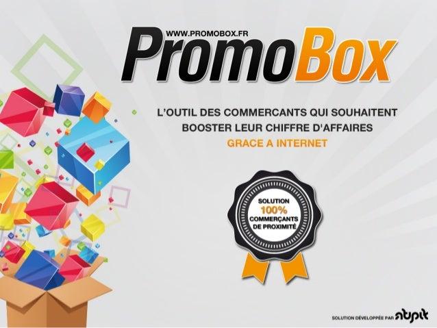 Presentation PromoBox Spécial Bienvenue