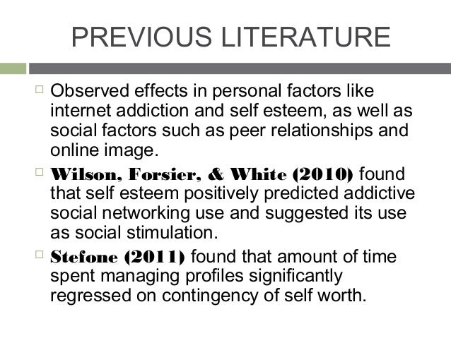 impact of internet addiction on social skills The psychological and social factors underlying internet addiction, little if any empirical evidence  or new social skills  treatment outcomes with internet.