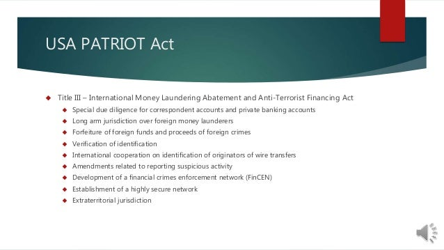 case study 3 usa patriot act Sec 310 wk 7 case study 3 usa patriot act to purchase this visit here: .
