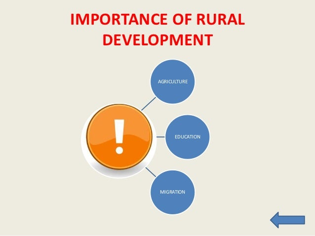 rural development in  raising awareness• government support• alternative assistance 15 importance of rural development