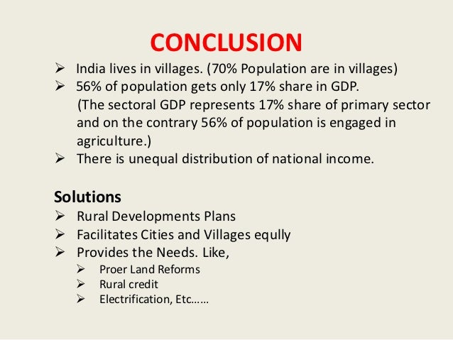 Brief Essay on Rural Development in India (696 Words)