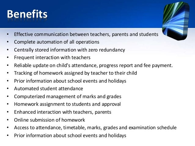 School Management System Ppt