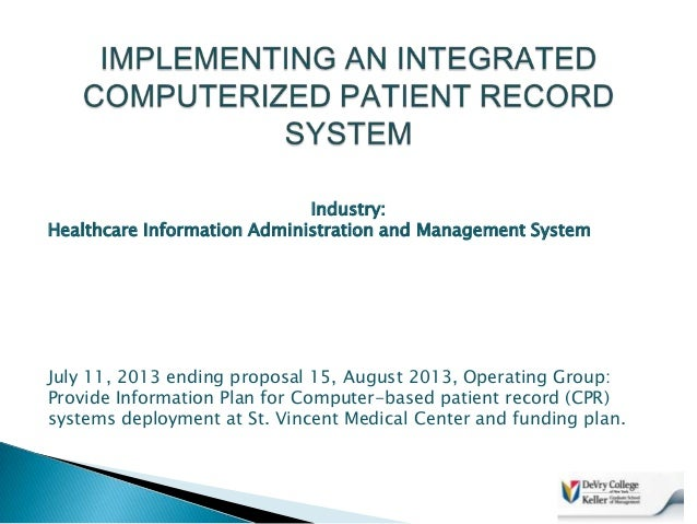 patient information system statement of objectives A printed bill that displays the details such as the amount that each patient has to pay, service dates, charges, and transaction descriptions along with the patient's demographic details is called as patient statement.