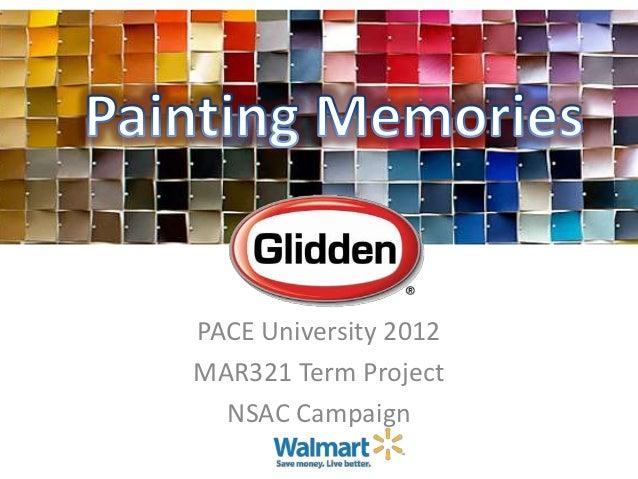 PACE University 2012MAR321 Term Project  NSAC Campaign