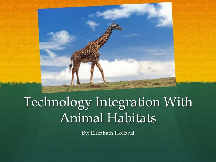 Technology Integration With Animal Habitats<br />By: Elizabeth Holland<br />