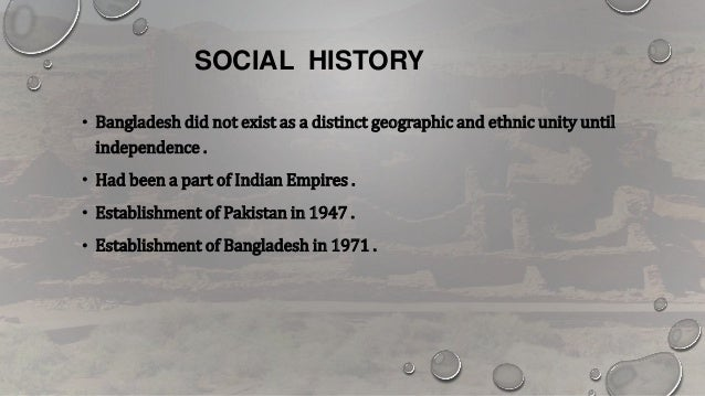 social structure of bangladesh Social structure individual experience beliefs symbols rituals scared text  such as bangladesh, philippines, china, india, south america and ethiopia.